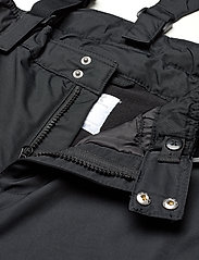 Lindex - FIX Black ski trousers with braces - schneehose - black - 3