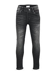 Trousers denim jersey slim Jim - BLACK