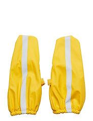 Yellow rain gloves - YELLOW
