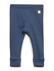 Leggings rib solid - DK DUSTY BLUE