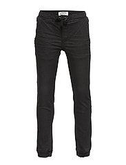 Trousers denim jogger cordura - BLACK