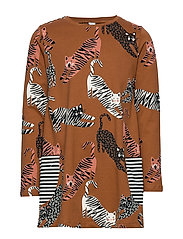 Top long stylish cats - BROWN