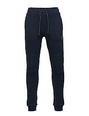 Sweatpants with reinforced knees - DARK NAVY