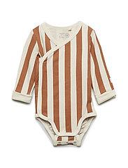 Body Wrap Block stripe - BROWN