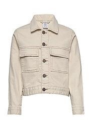 Jacket twill Ester - LT BEIGE