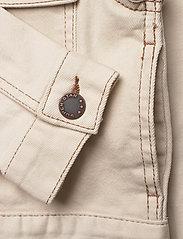 Lindex - Jacket twill Ester - denimjakker - lt beige - 3