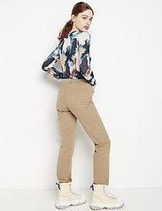 Lindex - Denim trousers Nea twill cr - straight jeans - light beige - 3