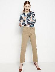 Lindex - Denim trousers Nea twill cr - straight jeans - light beige - 4