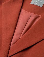 Lindex - Coat Lina - lichte jassen - dark dusty red - 2