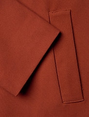 Lindex - Coat Lina - lichte jassen - dark dusty red - 3
