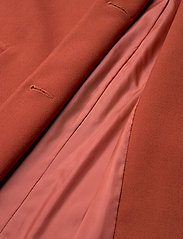 Lindex - Coat Lina - lichte jassen - dark dusty red - 4