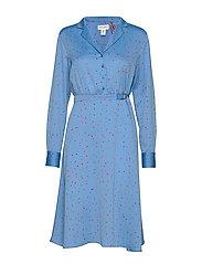 Dress Michelle - DUSTY BLUE