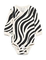 Body Wrap Zebra - LIGHT BEIGE