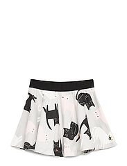 Skirt ao printed - LIGHT GREY