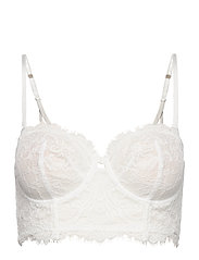 Bra  Smilla Bustier - LIGHT WHITE