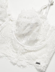 Lindex - Bra  Smilla Bustier - biustonosze z wypełnieniem - light white - 2