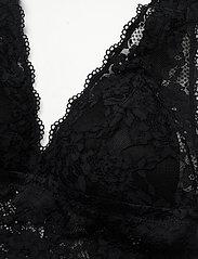 Lindex - Bra Iris Lace Bralette - bralette & corset - black - 3