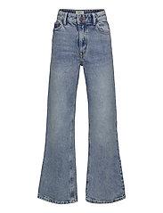 Trousers denim Vanja washed bl - BLUE