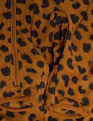 Lindex - Overall fleece - fleecetøj - brown - 3