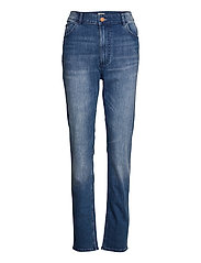 Denim trousers Vera mid blue - BLUE