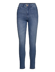 Denim trousers Vera mid blue - DENIM