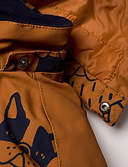 Lindex - Billie Overall dog aop - snowsuit - lt brown - 7
