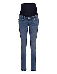 Trousers denim MOM Clara blue - BLUE