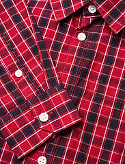 Lindex - Shirt Christmas - overhemden - dark red - 2