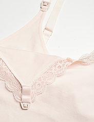 Lindex - Nursing Camisole Emelie Seamle - tops - white - 2