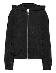 Sweatshirt Hoodie Glamour - BLACK