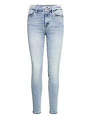 Trousers denim Clara lt blue - BLUE