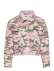 Jacket twill Nasha - PINK