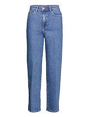 Trousers Hanna retro blue - BLUE
