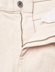 Lindex - Trousers denim Pam ecru - mom jeans - beige - 3