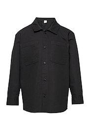Shirt overshirt worker - BLACK