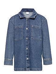 Shirt overshirt denim - BLUE