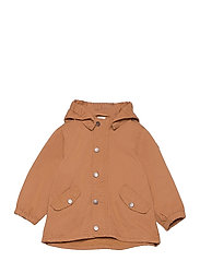 Jacket cotton parka - BROWN