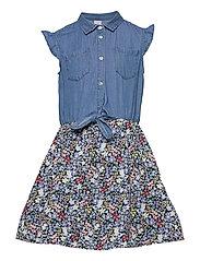 Dress Bodil - BLUE