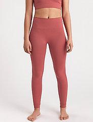Lindex - Leggings Ella Seamless - leggings - pink - 0