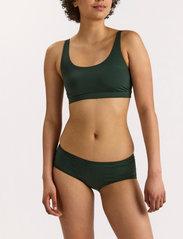 Lindex - Swim Brief Phoebe Classic Low - bikini underdele - green - 0