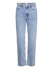 Lindex - Trousers denim Betty fresh blu - mom jeans - blue - 0