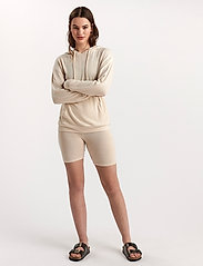 Lindex - Lounge Top Hood Felicity - hættetrøjer - white - 4