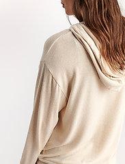 Lindex - Lounge Top Hood Felicity - hættetrøjer - white - 7
