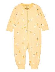 Pyjamas pear aop - YELLOW