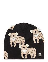 Cap tricot Leo Koala - BLACK