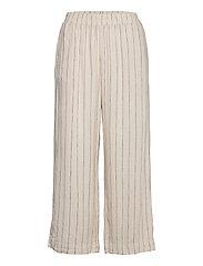 Trouser Bella linen - BEIGE