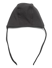 Lindex - Onesie solid rib   helmet 2 pi - langärmelig - black - 3