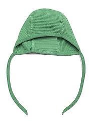 Lindex - Onesie solid rib   helmet 2 pi - langärmelig - green - 2