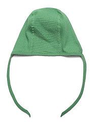 Lindex - Onesie solid rib   helmet 2 pi - langärmelig - green - 3