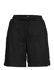 Shorts Gillian linen - BLACK